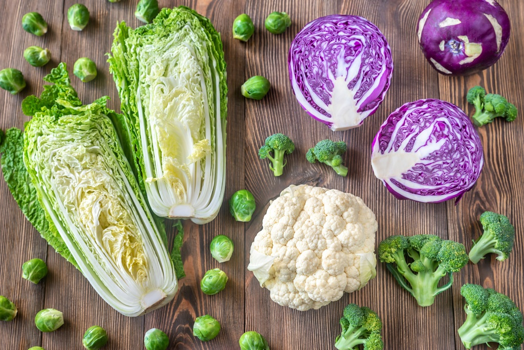 Jedzmy dla zdrowia warzywa kapustne